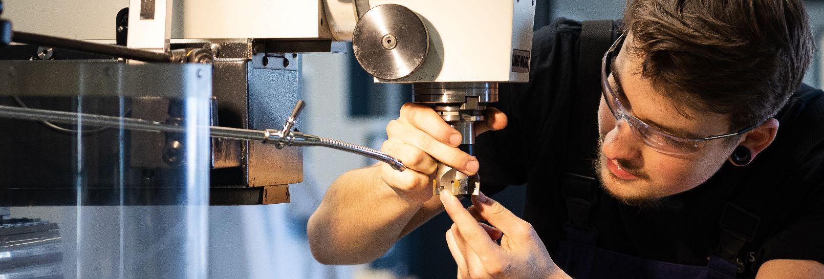Ausbildung zum Feinwerkmechaniker (m/w/d) für den Maschinenbau