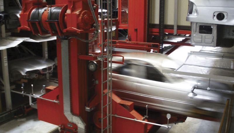 您在汽车工业领域内获得高效仓库技术的合作伙伴
